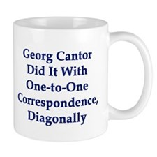 Georg Cantor Small Mug