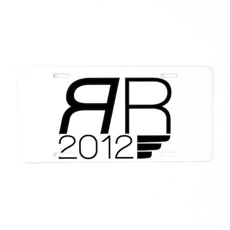 Romney 2012 Aluminum License Plate