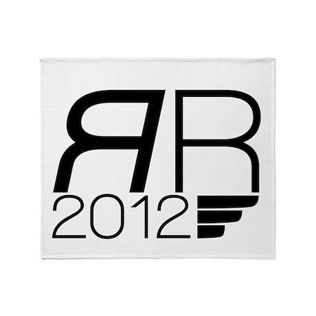 Romney 2012 Throw Blanket