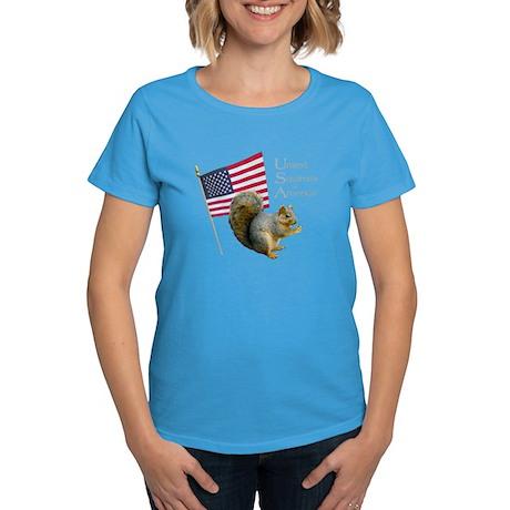 United Squirrels of America Women's Dark T-Shirt