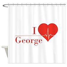 I love George Shower Curtain