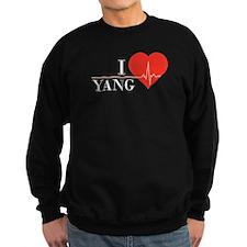 I love Yang Sweatshirt