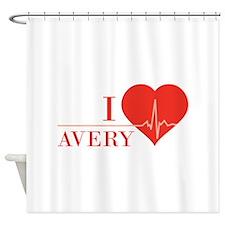I love Avery Shower Curtain