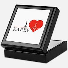 I love Karev Keepsake Box