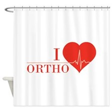 I love Ortho Shower Curtain