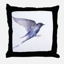 Purple Martin GIFT Throw Pillow
