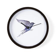 Purple Martin GIFT Wall Clock