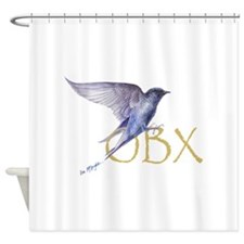 OBX purple martin Shower Curtain