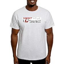 Tibetan Mastiff Ash Grey T-Shirt