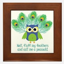 ruffle-my-feathers.jpg Framed Tile