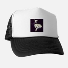 The Whippet Is In Trucker Hat