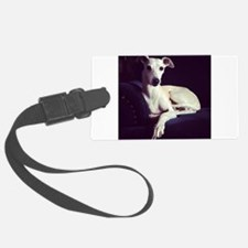 The Whippet Is In Luggage Tag