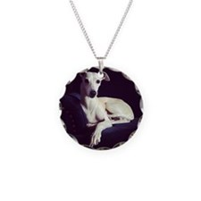 The Whippet Is In Necklace