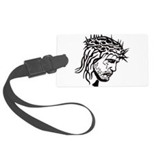 Jesus Face Luggage Tag