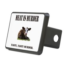 Meat is murder. Hitch Cover