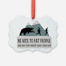 Fat People Ornament