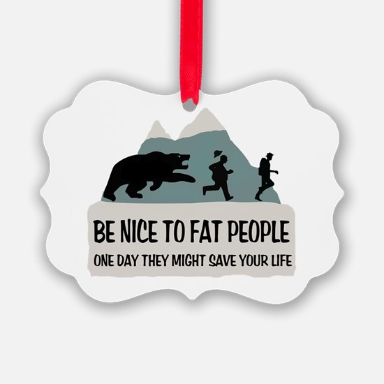 Fat People Ornament