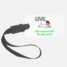 Live the gates open Luggage Tag
