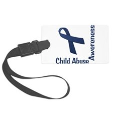 Child Abuse Awareness Luggage Tag