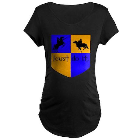 Jousting 2 Maternity Dark T-Shirt