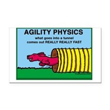 AgilityPhysics.png Rectangle Car Magnet