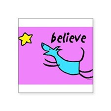 "300believe.jpg Square Sticker 3"" x 3"""