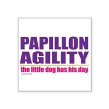 """Papillonday.png Square Sticker 3"""" x 3"""""""
