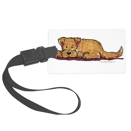 Little Dog Large Luggage Tag