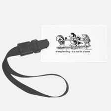 Sheepherding Sissies/Sheltie Luggage Tag