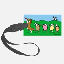 Pied Piper Sheltie Luggage Tag