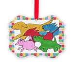 Herd o pups.png Picture Ornament