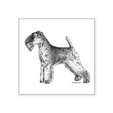 "Lakeland_Terrier2.png Square Sticker 3"" x 3"""