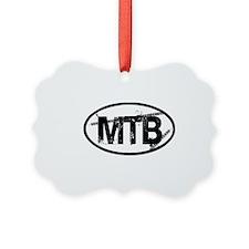 MTB Oval Ornament