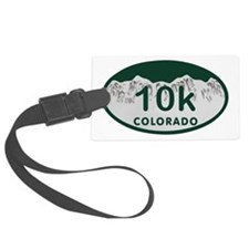 10K Colo License Plate Luggage Tag