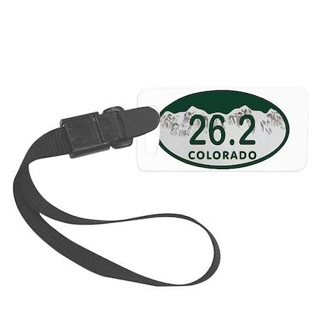26.2 Colo License Plate Small Luggage Tag