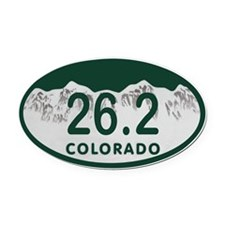 26.2 Colo License Plate Oval Car Magnet