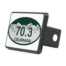 70.3 Colo License Plate Hitch Cover