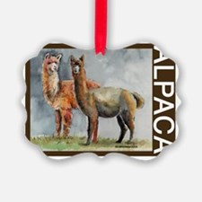 ALPACAtwo.png Ornament