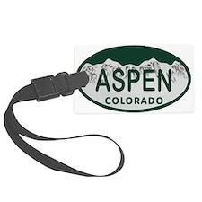Aspen Colo License Plate Luggage Tag