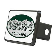 Colorado Springs Colo License Plate Hitch Cover