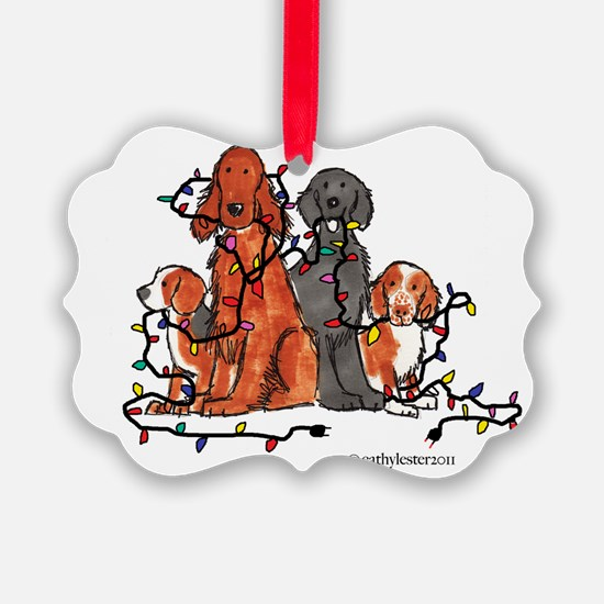 dogchristmasparty.png Ornament