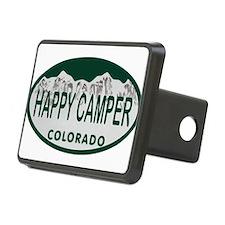 Happy Camper Colo License Plate Hitch Cover