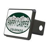 Colorado happy camper Hitch Covers