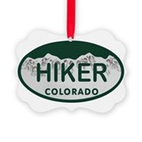 Hiking Picture Frame Ornaments