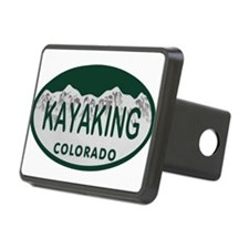 Kayaking Colo License Plate Hitch Cover