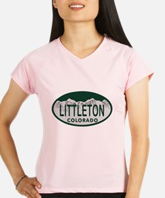 Littleton Colo License Plate Performance Dry T-Shi