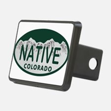 Native Colo License Plate Hitch Cover