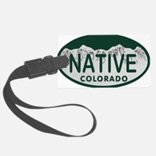 Native Colo License Plate Luggage Tag