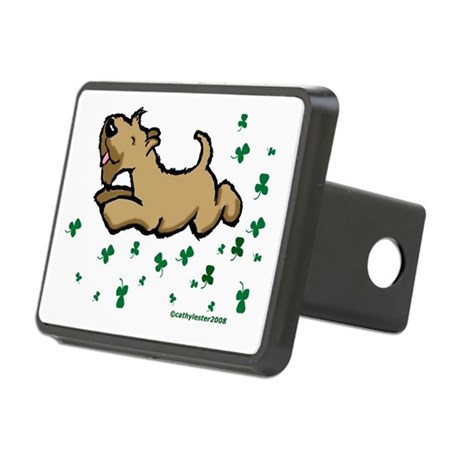 SCWTshamrockjump.png Rectangular Hitch Cover