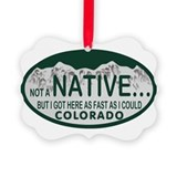 Colorado Picture Frame Ornaments